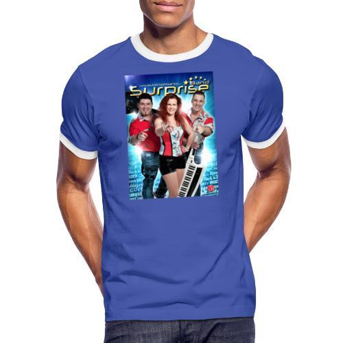 Autogramm Surprise Band - Männer Kontrast-T-Shirt