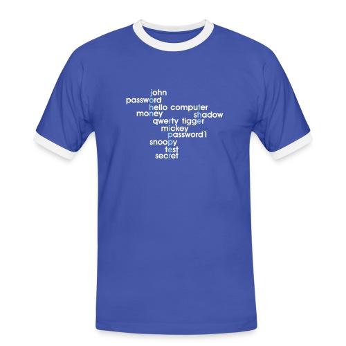 John The Ripper Crossword(III) - Men's Ringer Shirt