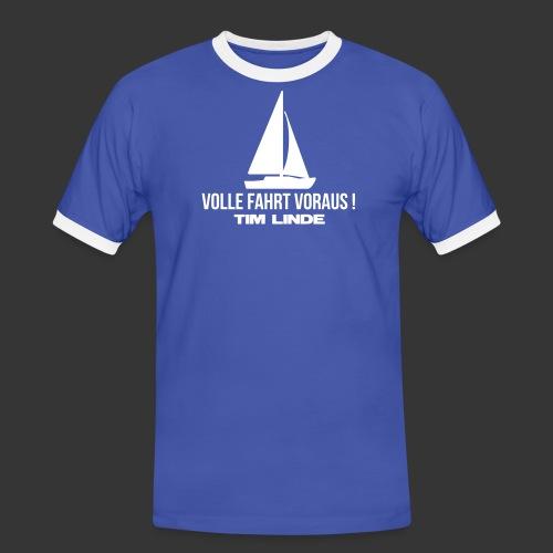 Logo 03 - Männer Kontrast-T-Shirt