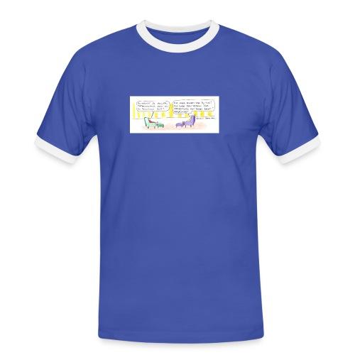 totes recht - Männer Kontrast-T-Shirt
