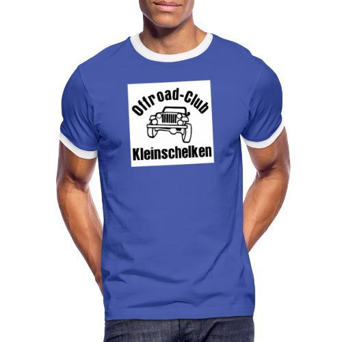 Offroad Club Kleinschelken - Männer Kontrast-T-Shirt