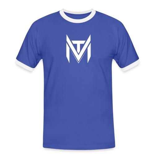 MadVexTV Logo Gross - Männer Kontrast-T-Shirt