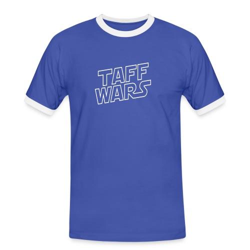 taffwars logo angle - Men's Ringer Shirt