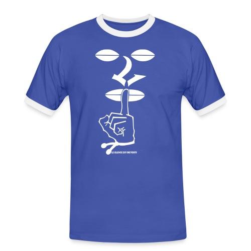 LOGO Lsv Blanc 22 png - T-shirt contrasté Homme