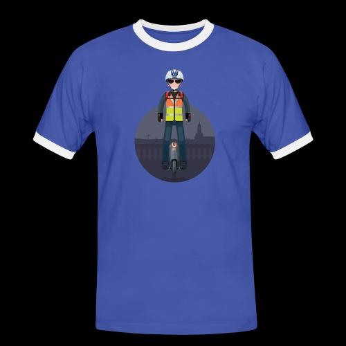 Wheels Fighters - T-shirt contrasté Homme
