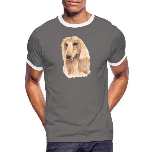 afghanskMynde- A - Herre kontrast-T-shirt