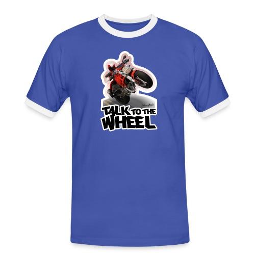 Ducati Monster Wheelie B - Camiseta contraste hombre