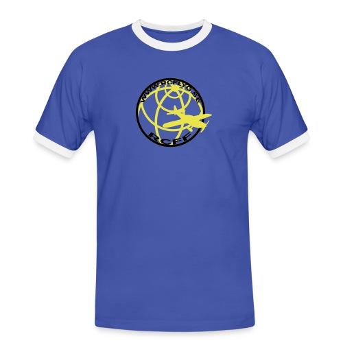 rcff blacknwhite - Kontrast-T-shirt herr