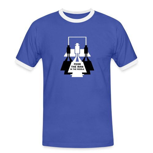 The Man in the Middle - Men's Ringer Shirt