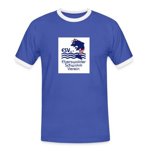 esv bildgroesse aendern - Männer Kontrast-T-Shirt