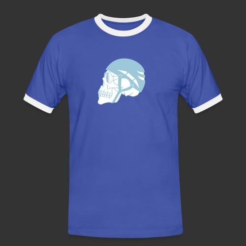 Bergsteigerskull - Männer Kontrast-T-Shirt