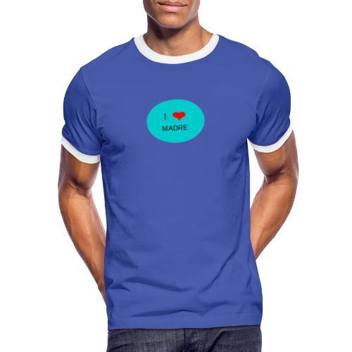 DIA DE LA MADRE - Camiseta contraste hombre