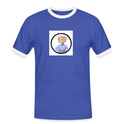andifb02 kopie - Männer Kontrast-T-Shirt