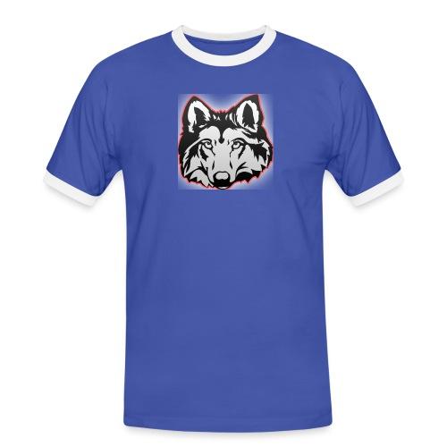 Wolfie (Red) - Men's Ringer Shirt