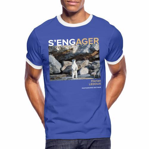 1 Achat = 1 Don à l'association ArcticArtsProject - T-shirt contrasté Homme
