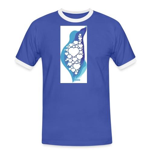 cuorecorsu2 - T-shirt contrasté Homme