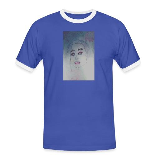 cubismn - Camiseta contraste hombre
