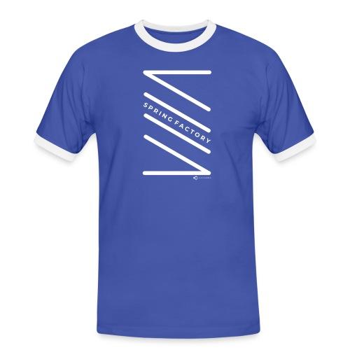 SPRING FACTORY WHITE - Men's Ringer Shirt