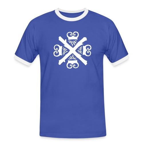 Fire Striker - Männer Kontrast-T-Shirt