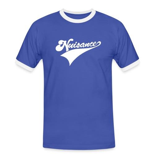 nuisance logo - Men's Ringer Shirt