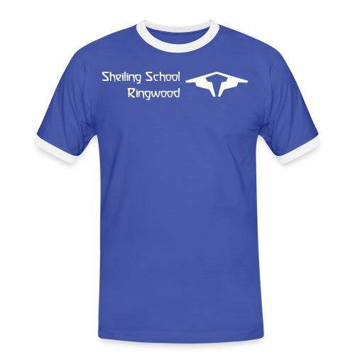 front coworkershirt - Men's Ringer Shirt