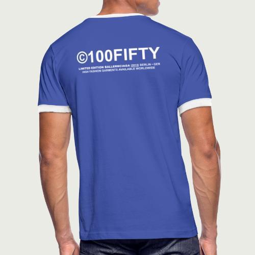 S - Männer Kontrast-T-Shirt