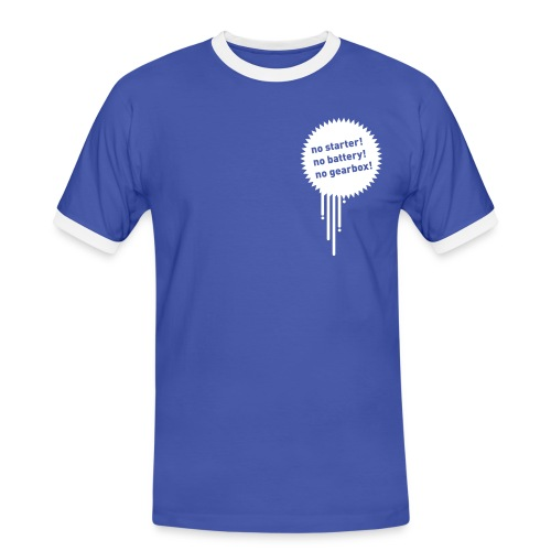 nostarter - Männer Kontrast-T-Shirt