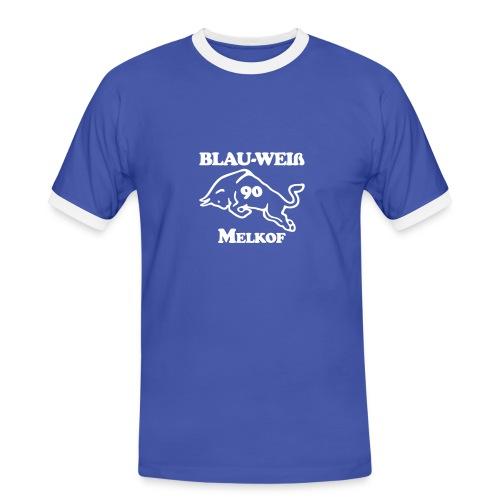 logo alternative gross - Männer Kontrast-T-Shirt
