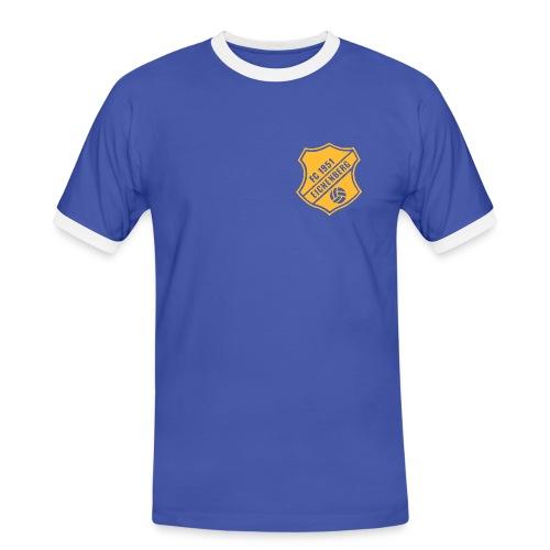 FCE_BAll_Transp_Vektor - Männer Kontrast-T-Shirt
