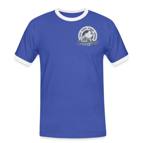 Logo Wolfsrudel - Männer Kontrast-T-Shirt