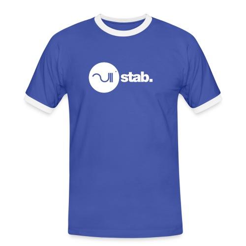 stablogotransparant4000 - Mannen contrastshirt