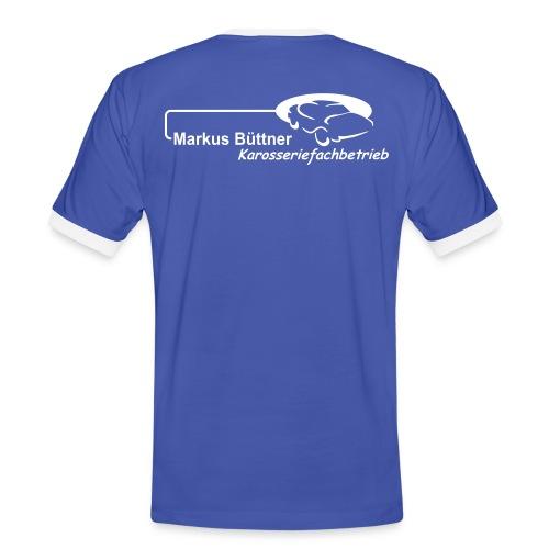 buettner - Männer Kontrast-T-Shirt