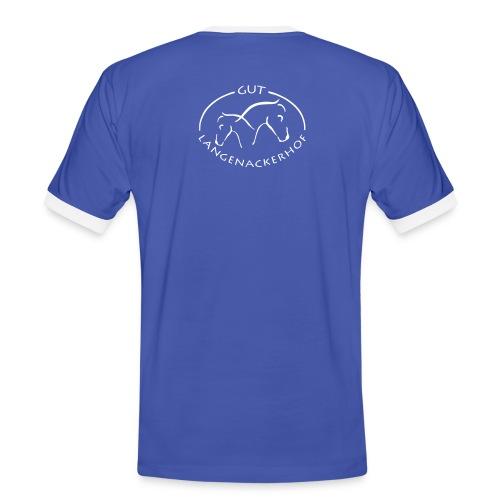 logolangenacker - Männer Kontrast-T-Shirt