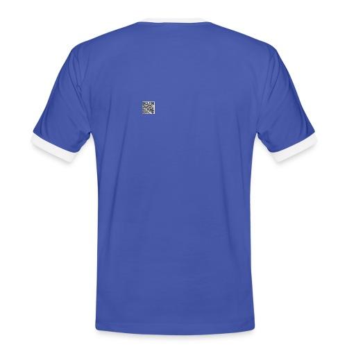 qrcode jpeg - Männer Kontrast-T-Shirt