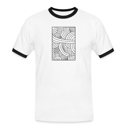 Brut - T-shirt contrasté Homme