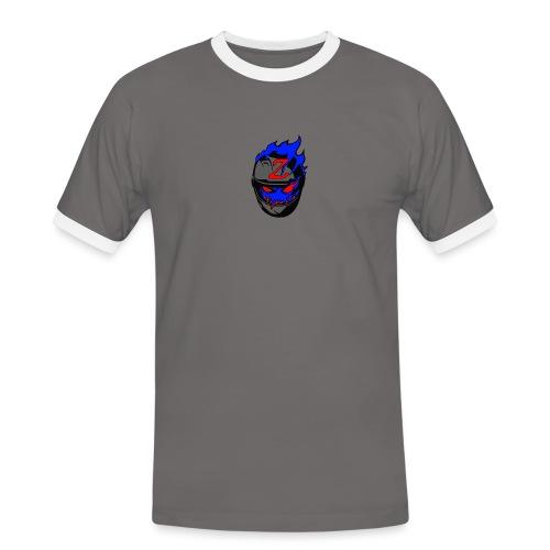 Zeroes logo - Maglietta Contrast da uomo