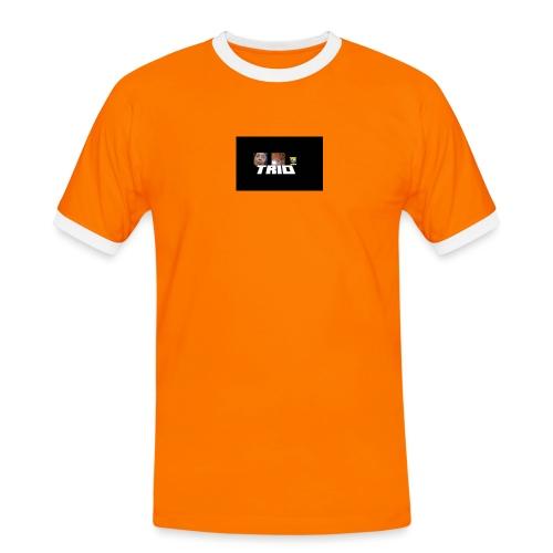 TRIO - Maglietta Contrast da uomo