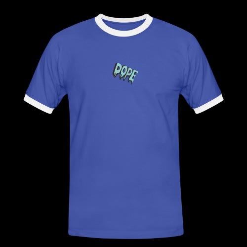 original - Koszulka męska z kontrastowymi wstawkami