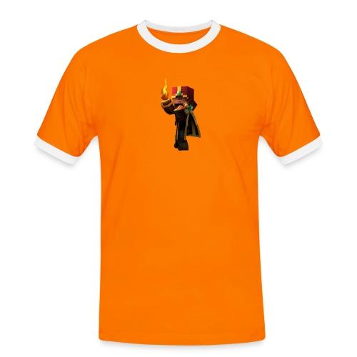 Musmatta - Kontrast-T-shirt herr