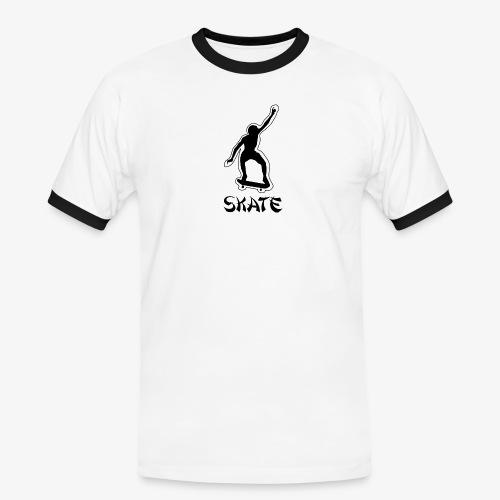skate - Mannen contrastshirt