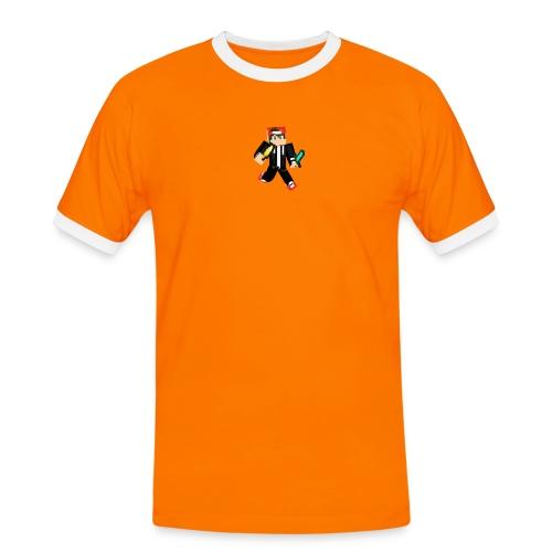animated skin - Männer Kontrast-T-Shirt