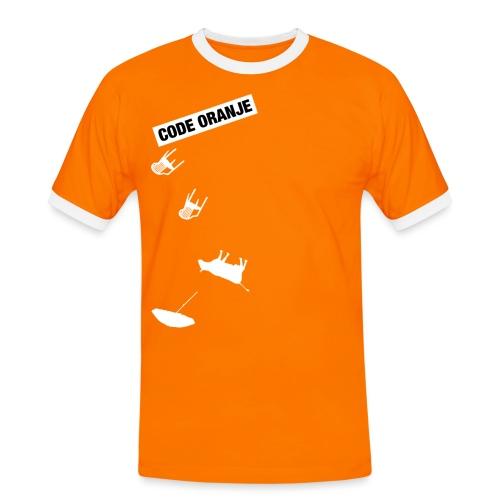 Code Oranje - Mannen contrastshirt