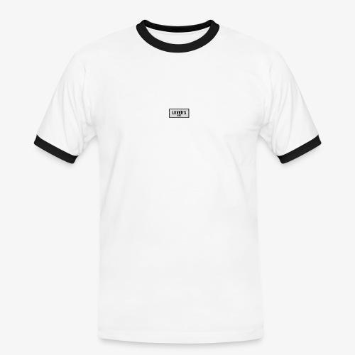 LOVER'S - T-shirt contrasté Homme