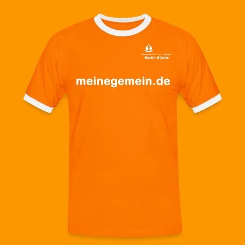 T Shirt Logo Kuer - Männer Kontrast-T-Shirt