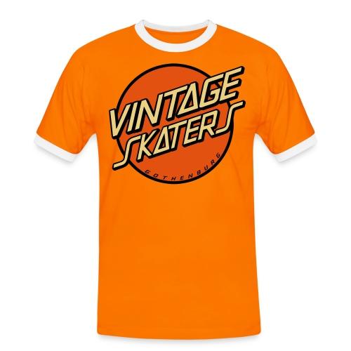 vsvektor - Kontrast-T-shirt herr