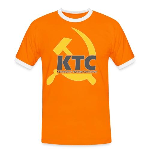 kto communism shirt - Kontrast-T-shirt herr