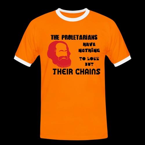 Karl Marx - Camiseta contraste hombre