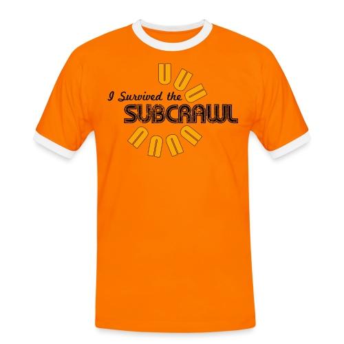 I Survived the Subcrawl - Men's Ringer Shirt