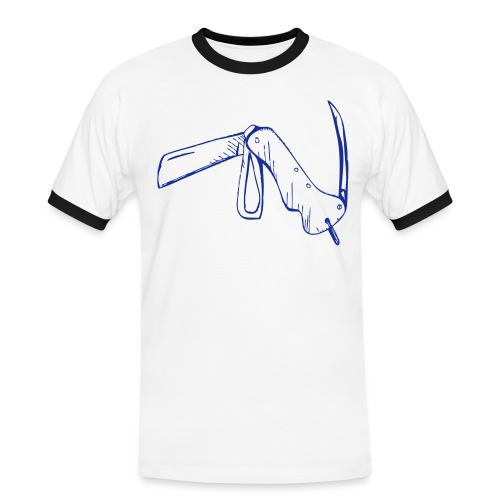 jacknife - Maglietta Contrast da uomo