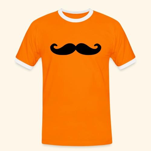 Loco Moustache - Mannen contrastshirt